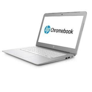"HP Chromebook 14-AK041DX - 14"" Screen, Celeron N @ 2.16GHz, 4GB RAM, 16GB SSD, Silver (Certified Refurbished)"