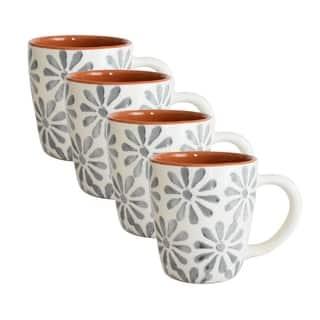 Euro Ceramica Margarida Mugs (Set of 4)