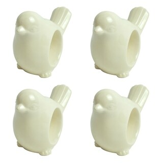 Early Bird Napkin Ring Set of 4