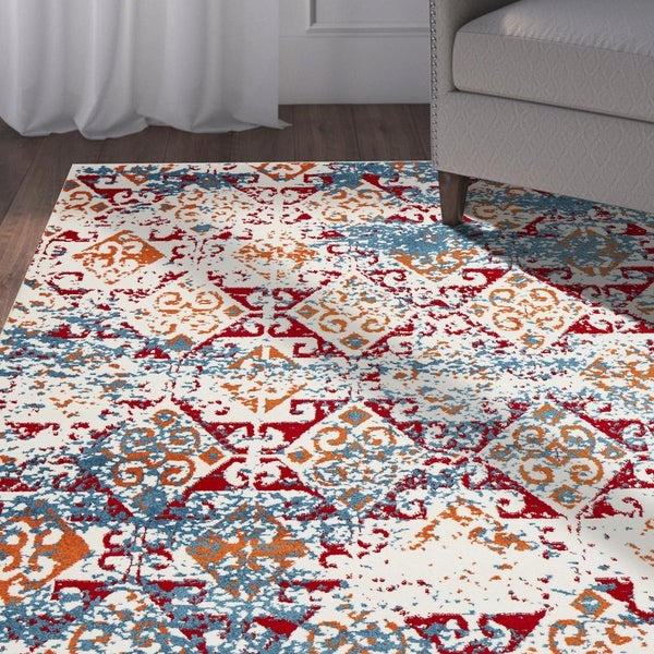 LR Home Fusion Geometric Illusion Rug. Opens flyout.