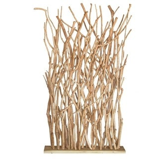 Groovystuff White Wood Branch Divider