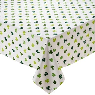 "Shamrock Shake Printed Tablecloth - 52 x 52"""