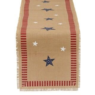 July Stars Embellished Table Runner