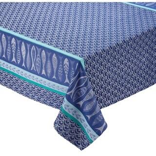 "Santorini Jacquard Tablecloth - 52 x 52"""