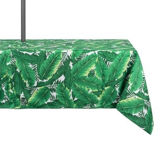 Banana Leaf Umbrella Tablecloth 60 x 84""