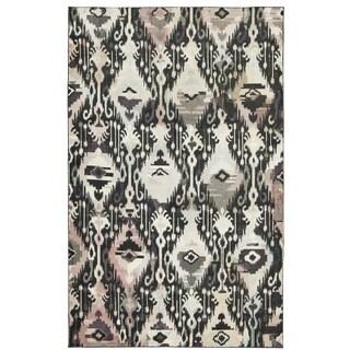 Mohawk Home Prismatic Hip Ikat Multicolor Boho Area Rug (8' x 10') - 8' x 10' (4 options available)