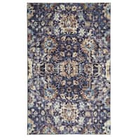 Copper Grove Sakteng Traditional Distressed MultiColor Area Rug - 5' x 8'