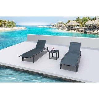 ANew 3 Pc Chaise Set