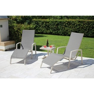 Timber Relax 2 Position Spring Chair 3 pc Set