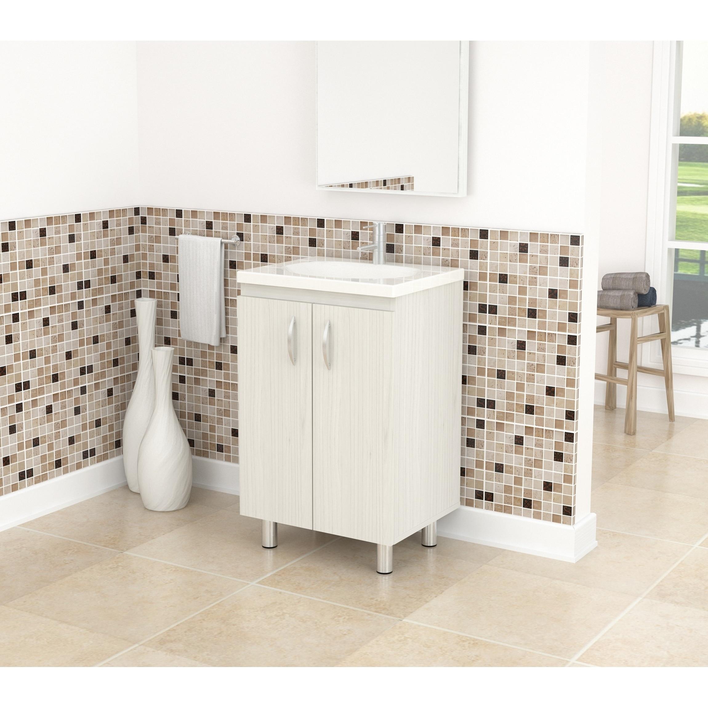Buy Bathroom Vanities & Vanity Cabinets Sale Online at Overstock.com ...