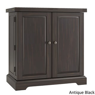 Astrid Expandable Wood Bar Cabinet Server by iNSPIRE Q Classic (4 options available)