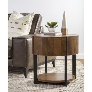 Raymond Round End Table by Kosas Home