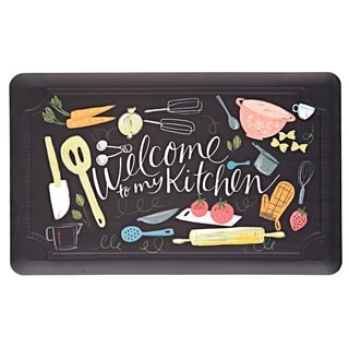 """Mohawk Comfort Mat Welcome To My Scattered Kitchen - 1'6"""" x 2'6"""""""