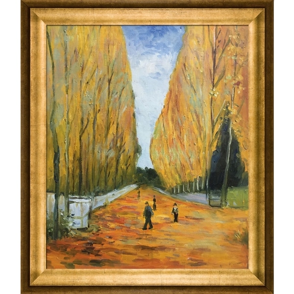 Vincent Van Gogh 'The Allee of Alyscamps, 1888' Hand Painted Oil Reproduction