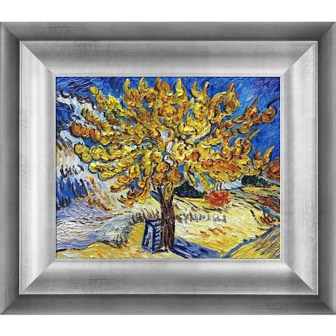 Vincent Van Gogh 'The Mulberry Tree' Hand Painted Oil Reproduction