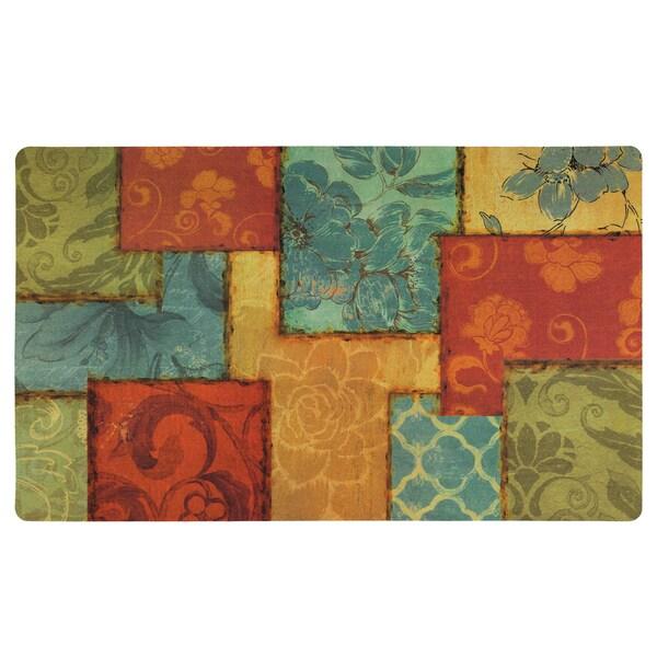 """Mohawk Comfort Mat Barcelona Patchwork Doormat - 1'6"""" x 2'6"""""""
