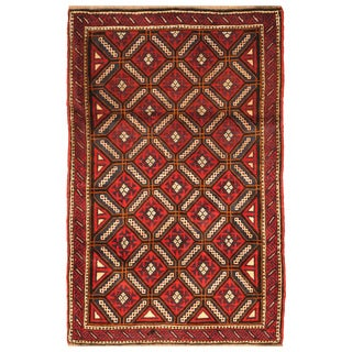 Handmade Balouchi Wool Rug (Afghanistan) - 3'1 x 4'10