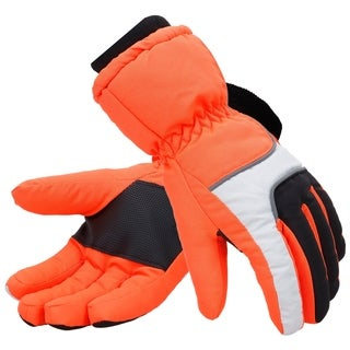 Mens Thinsulate Lined Waterproof Snowboard Gloves