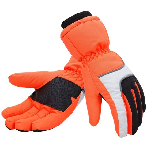 Women Thinsulate Lined Lined Waterproof Snowboard / Ski Gloves