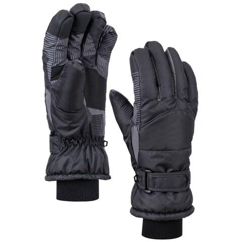 Women's Night Galaxy Waterproof Touchscreen Snow Ski Gloves