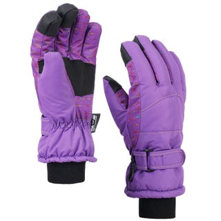 Women's Night Galaxy Waterproof Touchscreen Snow Ski Gloves (3 options available)