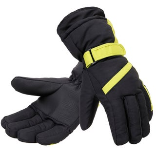 Men's Thinsulate Lined Winter Waterproof Ski Gloves (More options available)