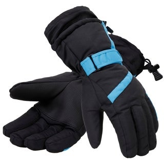 Men's Thinsulate Lined Winter Waterproof Ski Gloves
