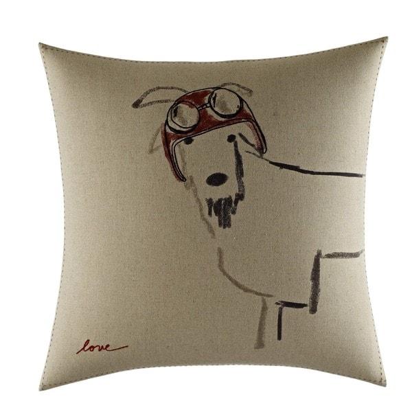 Ellen Degeneres Goat With Helmet Throw Pillow