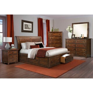 Cambridge Aspen Creek Storage 5-piece King-size Bedroom Suite