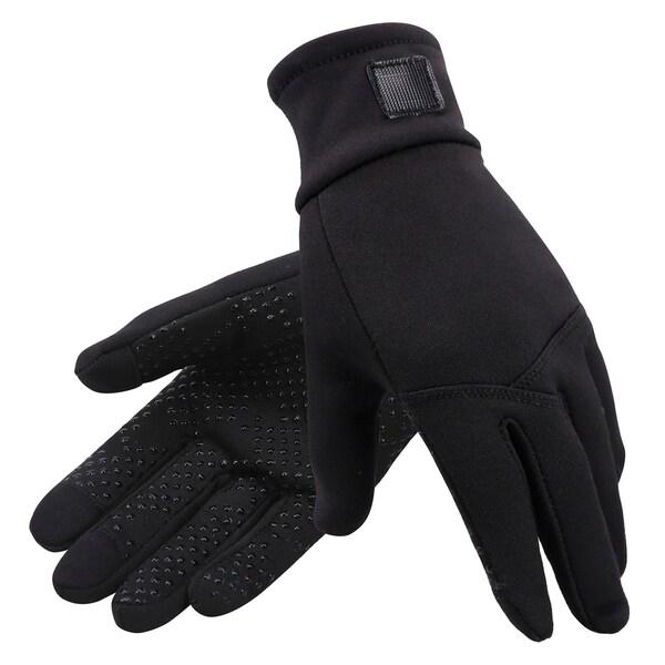 New Men Hyper Tech Touchscreen Mittens w// Pockets /& Optional Light Inner Gloves