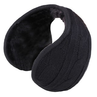 Sherpa Fleece Lined Foldable Winter Outdoor Ear Warmers/Earmuffs