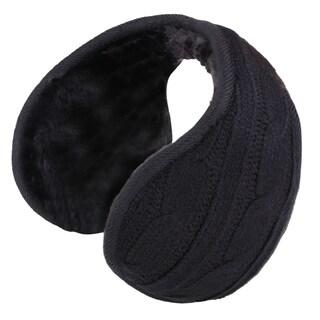 Sherpa Fleece Lined Foldable Winter Outdoor Ear Warmers/Earmuffs
