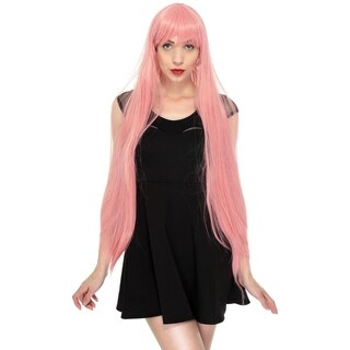 Women's Long Straight Full Hair Wig for Cosplay / Halloween Costume