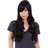 Women's High Quality Long Curly Wave Cosplay Wig with Free Wig Cap