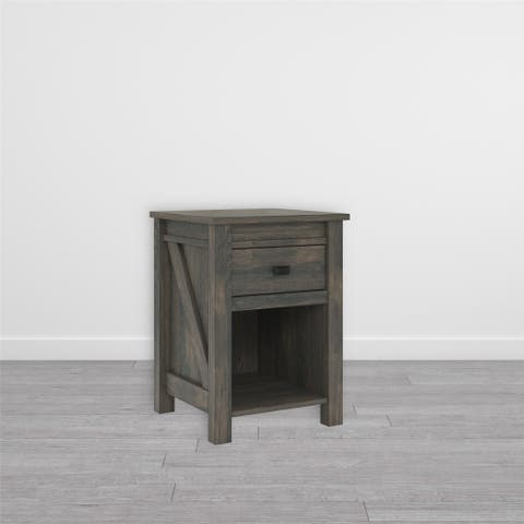 The Gray Barn Latigo Weathered Oak Nightstand. Buy Rustic Living Room Furniture Sets Online at Overstock   Our Best