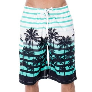 Men's Casual Beachwear Big Coconut Trees Board Shorts Swim trunks (5 options available)