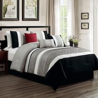 Callie embroidered 7 piece comforter set