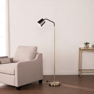 Harper Blvd Lofton Black w/ Brass Geometric Table Lamp