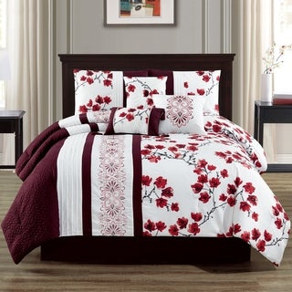 Camilla Embroidery 7-piece Comforter Set