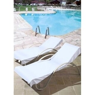 Turkish Cotton Pool Chair Cover - Standard Size