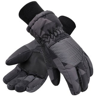Kids Teenagers Thinsulate Lined Lined Waterproof Ski Gloves