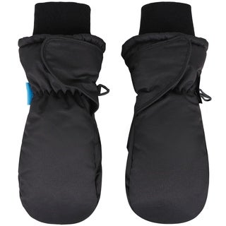 Girl's Snow Sports Thinsulate Lined Waterproof Winter Mittens (4 options available)