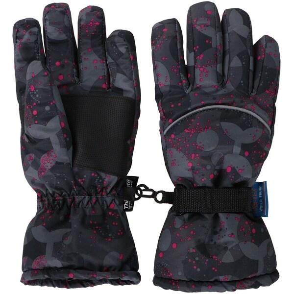 Kids Teenagers Thinsulate Lined Lined Waterproof Ski Gloves