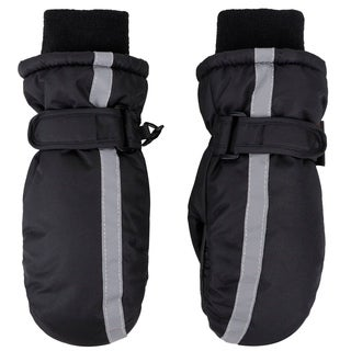 Boy's Thinsulate Lined Waterproof Winter Snow Ski Mitten Gloves