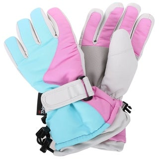 Girls Winter Waterproof Snow Skiing Hiking Ski Glove