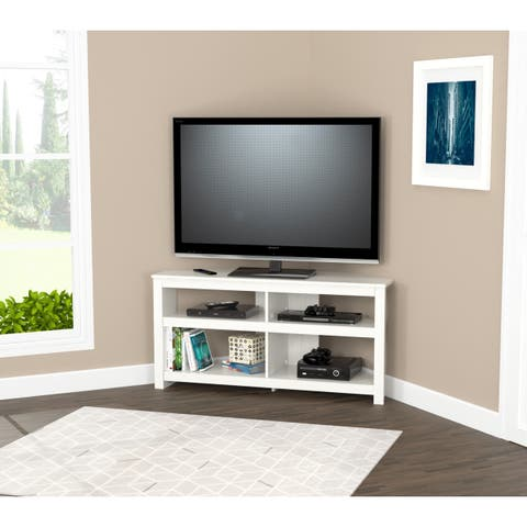 Buy Modern & Contemporary, Corner TV Stands Online at Overstock ...