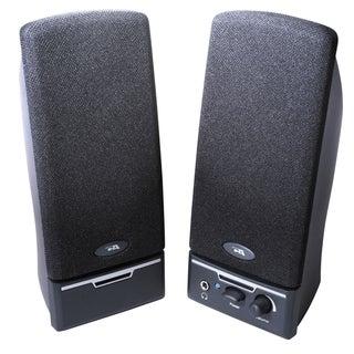 Cyber Acoustics CA-2012RB 2.0 Speaker System - 4 W RMS - Black