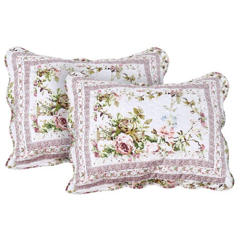 Primrose Garden King Shams set-2 pcs