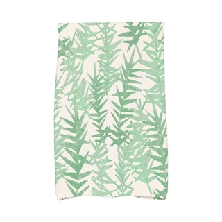 16 X 25 Inch Spikey Floral Print Hand Towel