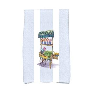 16 x 25 inch Veggie Cart Hand Towel
